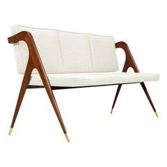 Mexican Modernist Sofa by Eugenio Escudero