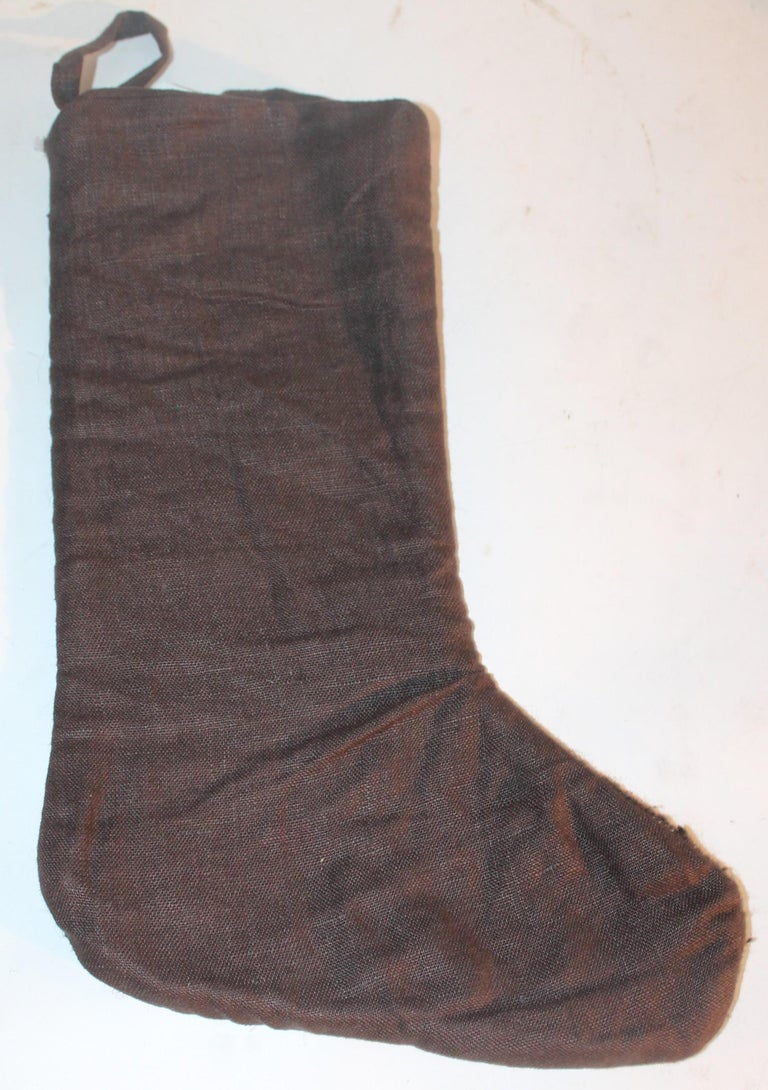 Hand-Crafted Mexican or American Indian Weaving Stockings, 3 For Sale