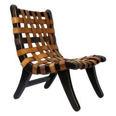 Mexican San Miguelito Chair Attributed to Michael van Beuren