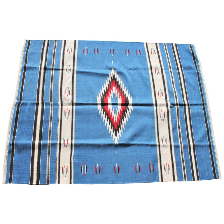 Mexican Serape Indian Weaving For Sale