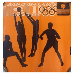 Mexico 68 Olympics Original Posters with Pictograms for Each Sport Discipline