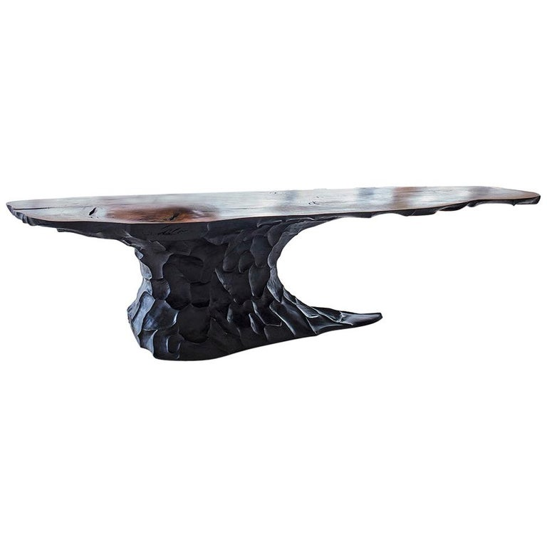 """Meyer Von Wielligh, """"Two Oceans"""", Oak and Ash Dining Table For Sale"""