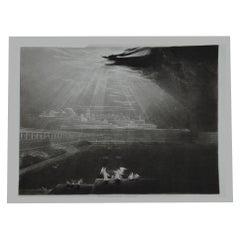 Mezzotint by John Martin, Heaven-Rivers of Bliss, Washbourne, 1853