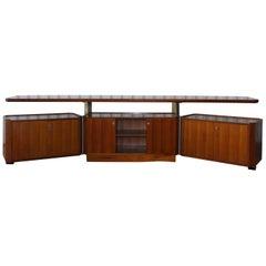 MG 14 Cabinet by Osvaldo Borsani for Tecno, Italy, 1950s