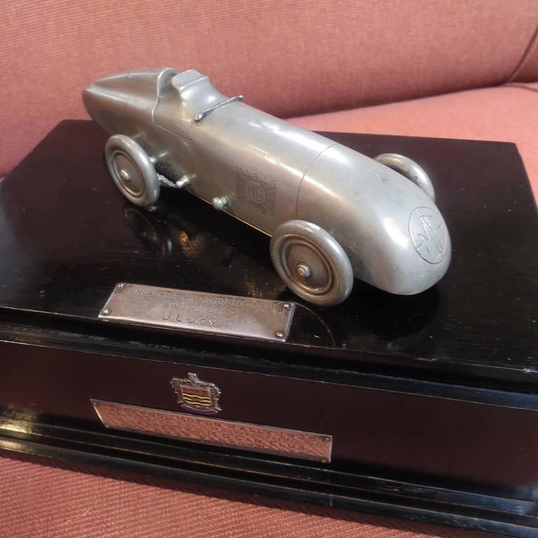 Art Deco M.G. Car Club Award from Blackpool Motor Rally, 1936 For Sale
