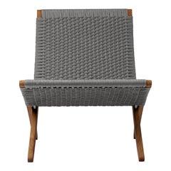 MG501 Cuba Outdoor Chair in Charcoal by Morten Gøttler