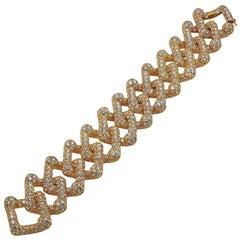 M.Gerard Diamond Interlocking Link Bracelet