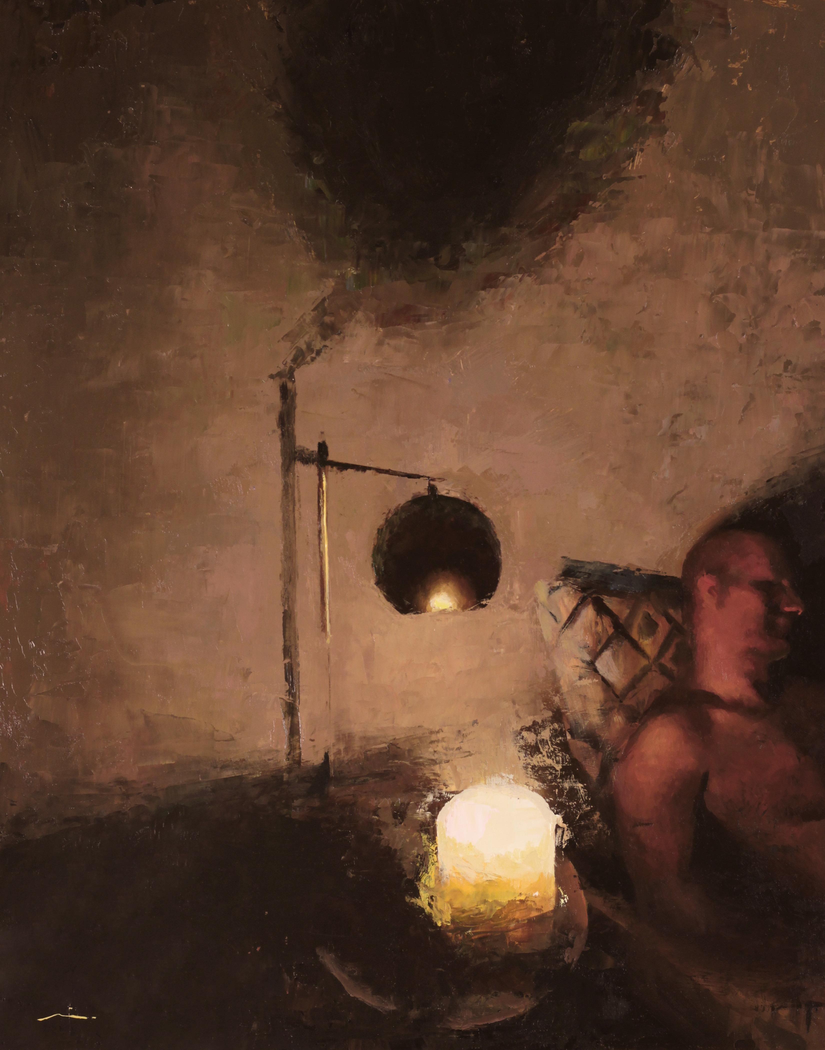 """""""Night Murmurs,"""" Oil Painting"""