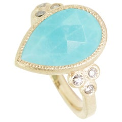 Mia Small Turquoise Ring