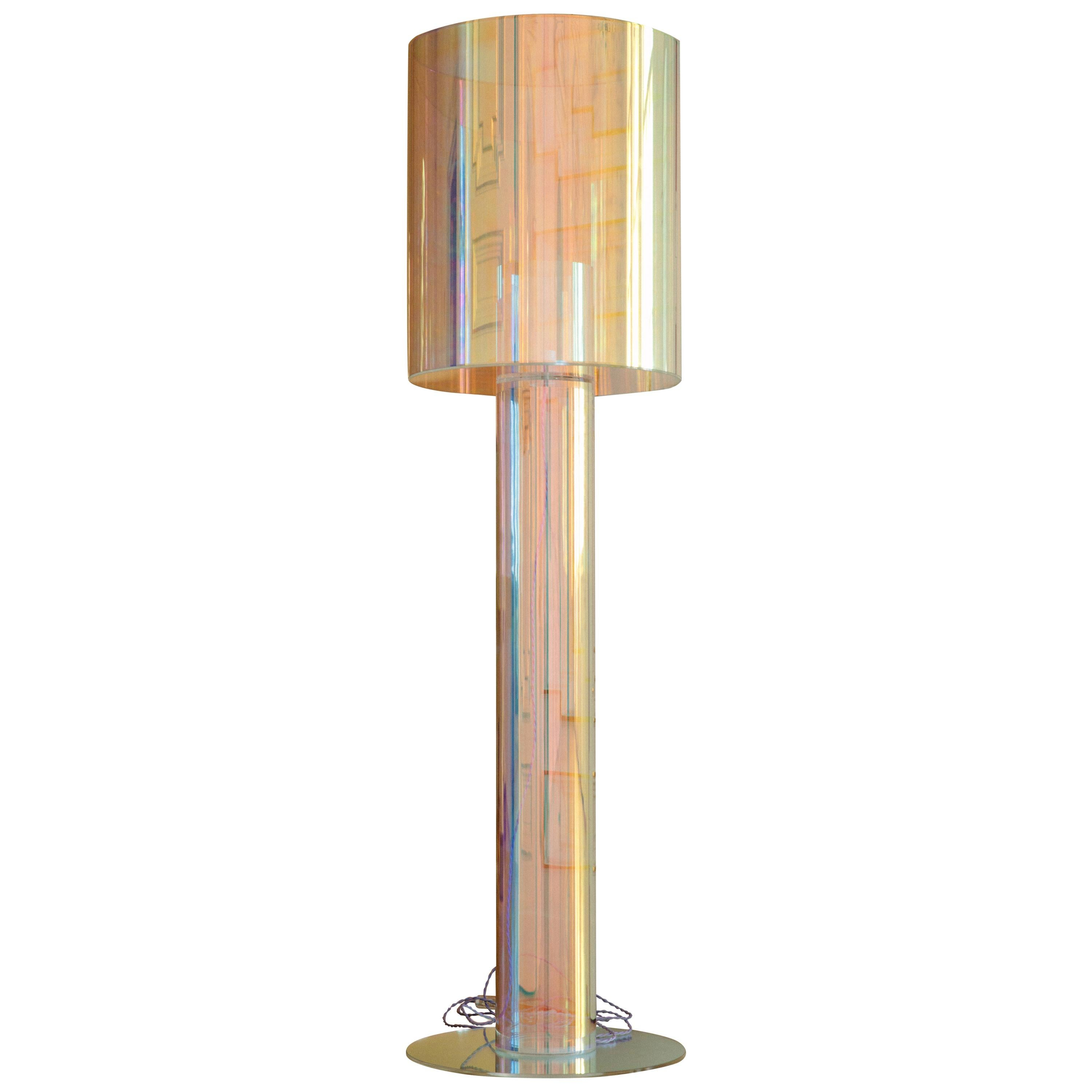 Miami Contemporary Floor Lamp by Brajak Vitberg