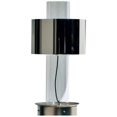Miami Floating Silver Table Lamp by Brajak Vitberg