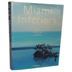 Miami Interiors Vintage Coffee Table Hard Cover Book