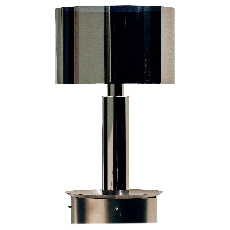 Miami Silver Table Lamp by Brajak Vitberg