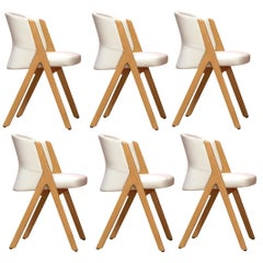 Miami Sunset, Handcrafted Italian Dining Chairs, Set of 6