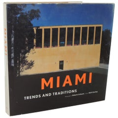 Miami Trends and Traditions Hard-Cover Vintage Coffee Table Book