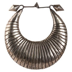 Miao Silver Ceremonial Necklace, Laos, Early 20th Century