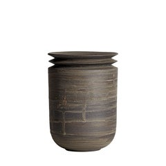 Mica Ore, Vessel M, Slip Cast Ceramic Vase, N/O Vessels Collection