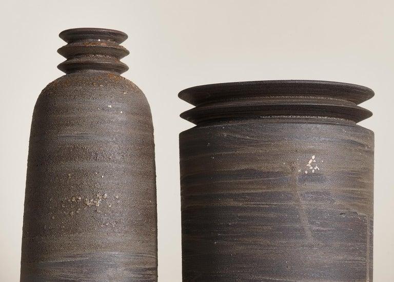 Other Mica Ore, Vessel O, Slip Cast Ceramic Vase, N/O Vessels Collection For Sale