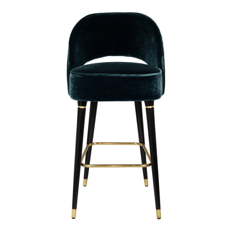 Mich Bar or Counter Stool In New Condition For Sale In Westport, CT