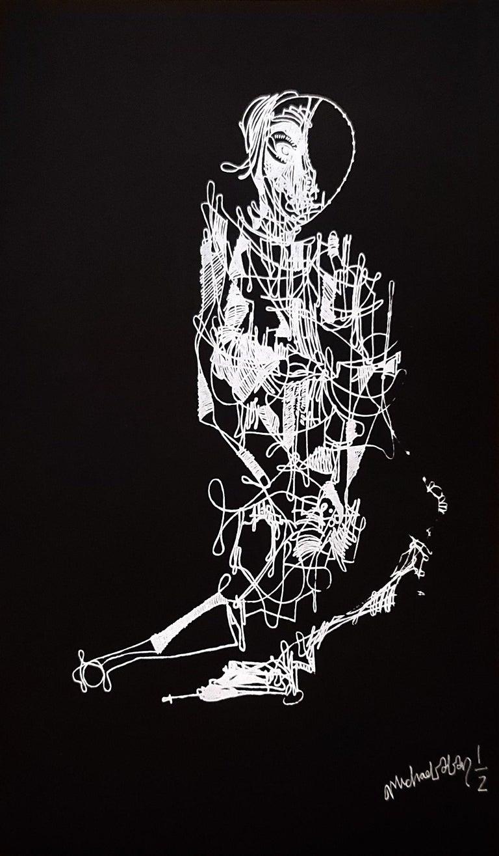 Arm Peasant - Print by Michael Alan