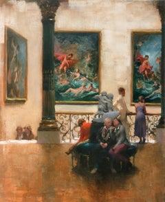 Art Appreciation, Wallace Collection - original painting- Contemporary Art
