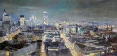 Capital 1/ EC4original city landscape painting