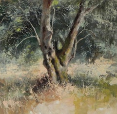 Olive Grove, Kerkyra - original nature forest painting modern Contemporary Art