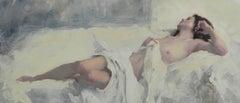 Original Nude Study  Painting  V