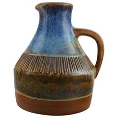 Michael Andersen, Denmark, Large Jug in Glazed Ceramics, 1950s