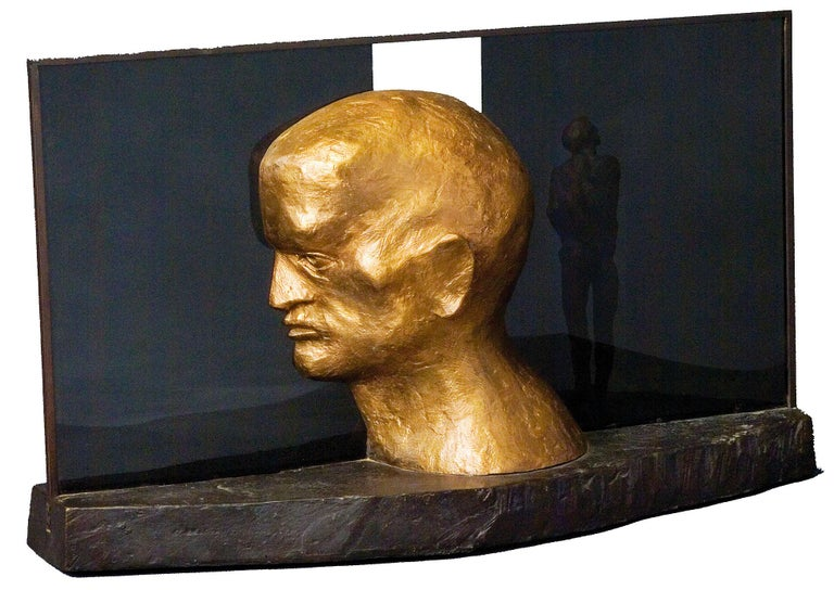 Michael Ayrton Figurative Sculpture - Reflex I