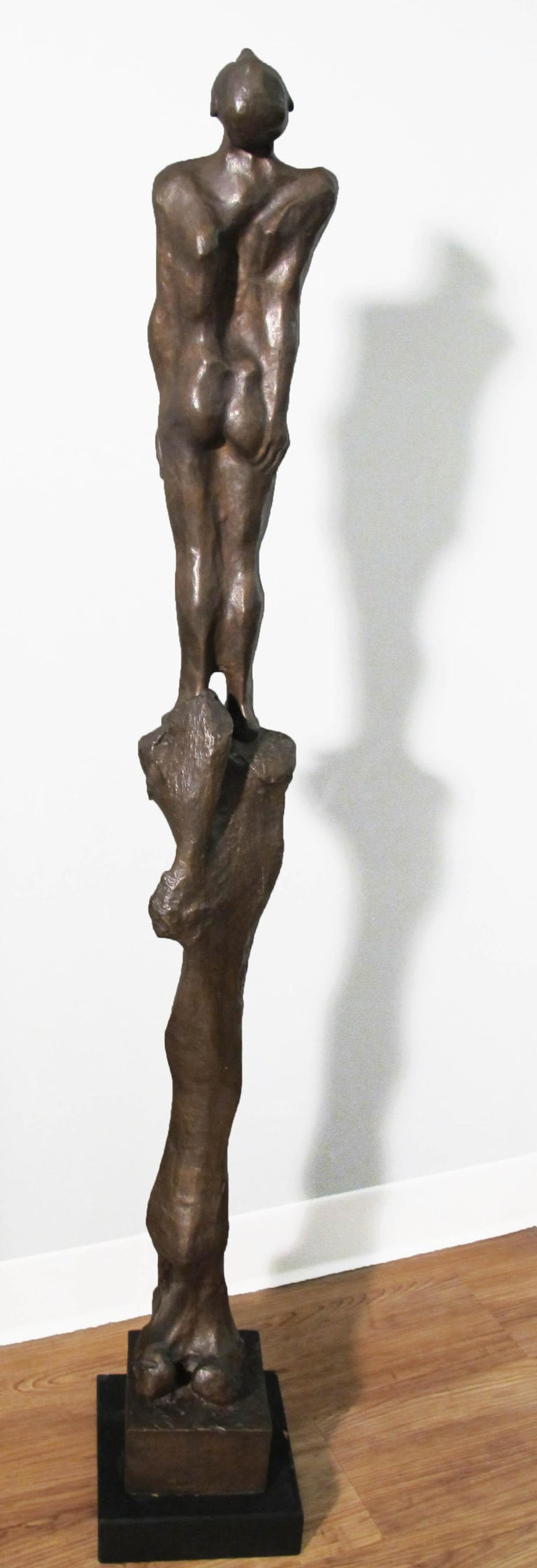 Stylite - Sculpture by Michael Ayrton