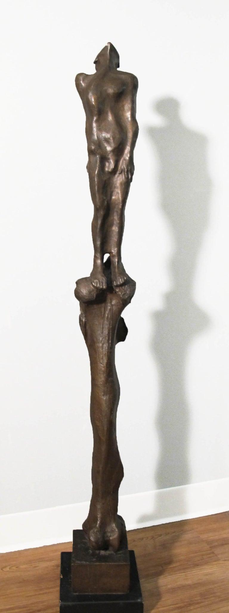 Michael Ayrton Figurative Sculpture - Stylite