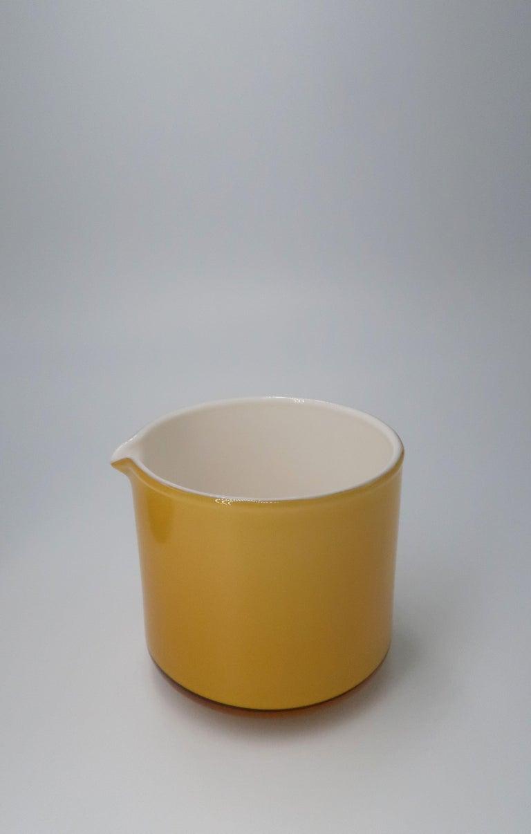 Michael Bang for Danish Holmegaard Glass Sugar Bowl and Creamer Set, 1970 For Sale 1