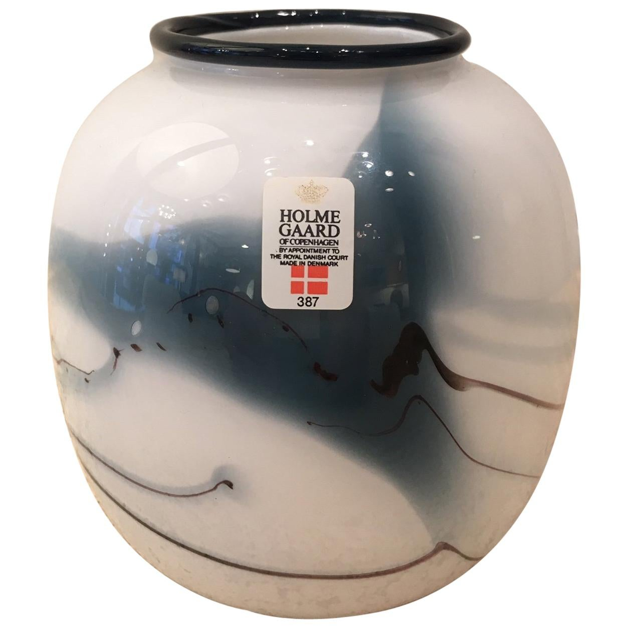 Michael Bang vase for Holmegaard