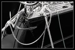 Boat 2 - Signed limited edition pigment print, Black and white photography