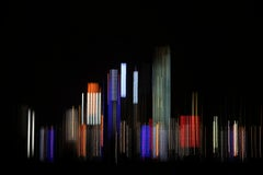 Future city 1 - Signed limited edition pigment print, Color Photography