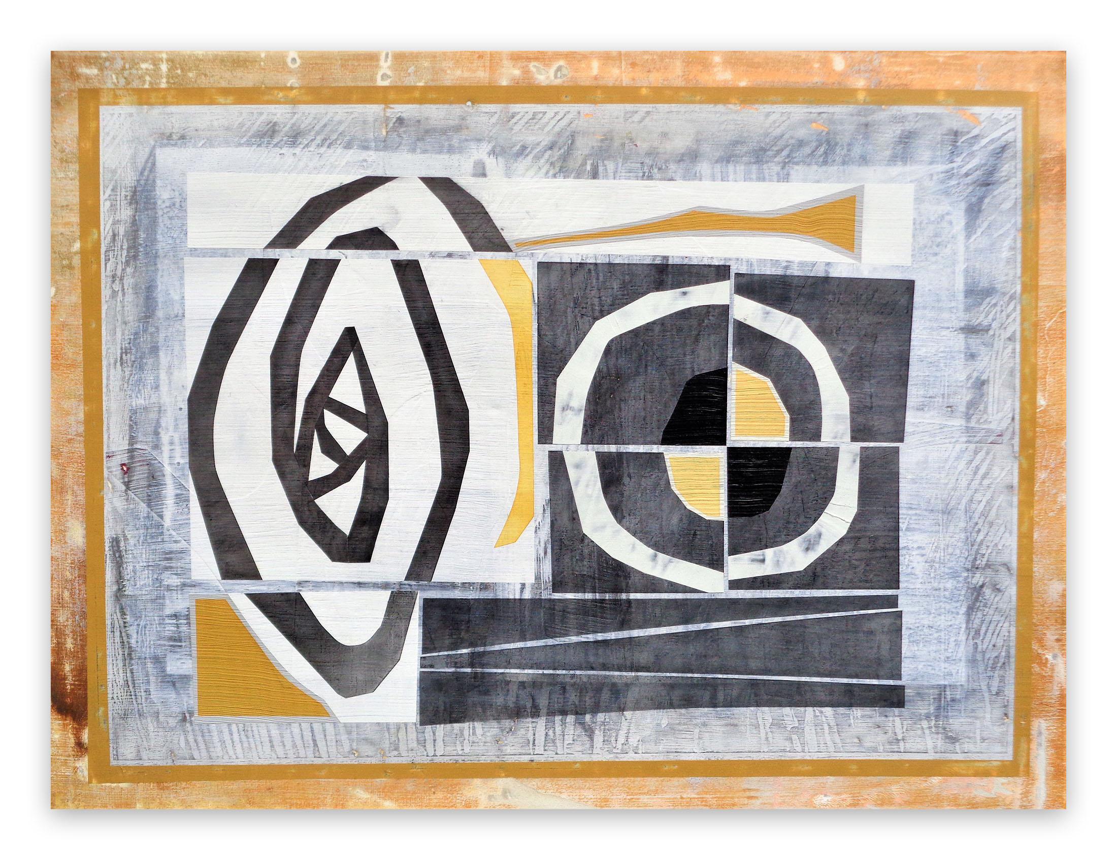 Newgrange Group II, (Abstract Painting)