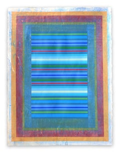 Organic Geometry (Fragrant Portals II), (Abstract Painting)