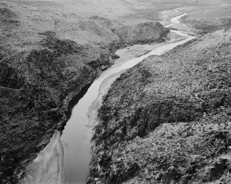 Michael Berman. 09w.082 Rio Grande. Big Bend State Park, Texas - Photograph by Michael Berman