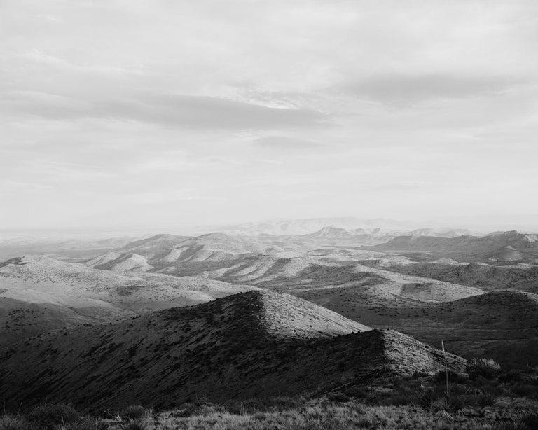 Michael Berman. 94P.197 Grasslands. Peloncillo Mountains, Arizona. 2018 - Photograph by Michael Berman