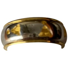 Michael Bondanza Platinum and Gold Man's Band Ring