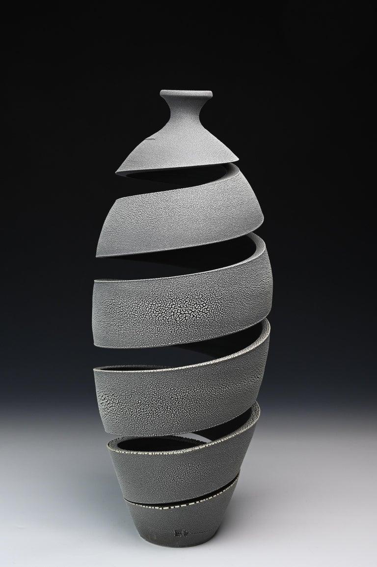 Michael Boroniec Still-Life Sculpture - Spatial Spiral: Crawl II