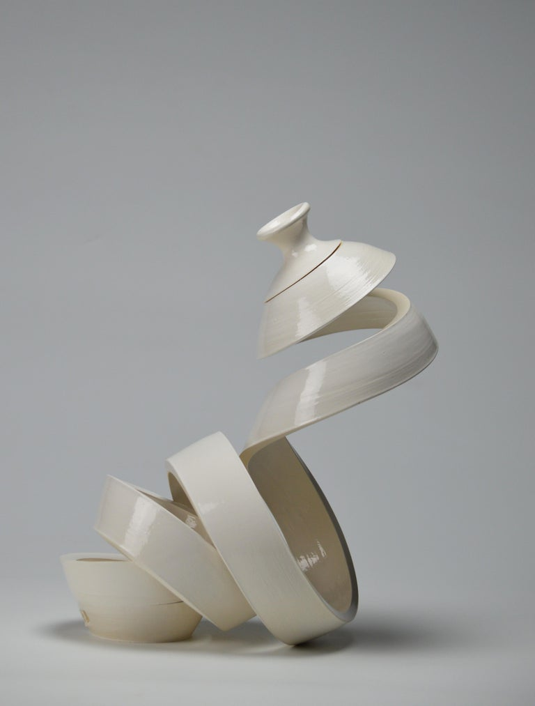 Spatial Spiral: Curve I - Contemporary Sculpture by Michael Boroniec
