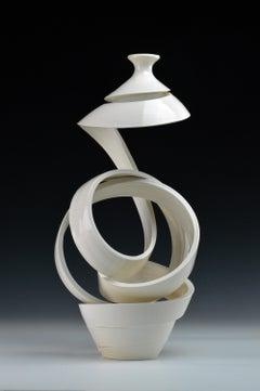 Spatial Spiral: Ribbon III