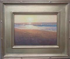 Beach Ocean Contemporary Seascape Painting Michael Budden Morning Sun