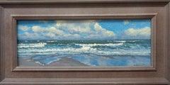 Beach Ocean Impressionistic Seascape Painting Michael Budden Along the Coast
