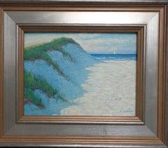 Beach Ocean Impressionistic Seascape Painting Michael Budden High Dunes