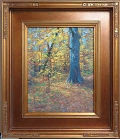 Impressionistic Autumn Landscape Oil Painting Michael Budden Autumn Interior