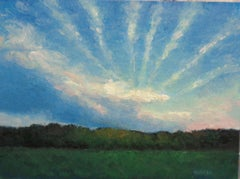 Impressionistic Landscape Painting Michael Budden Beautiful Skies Series