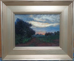 Impressionistic Landscape Painting Michael Budden Clearing Skies